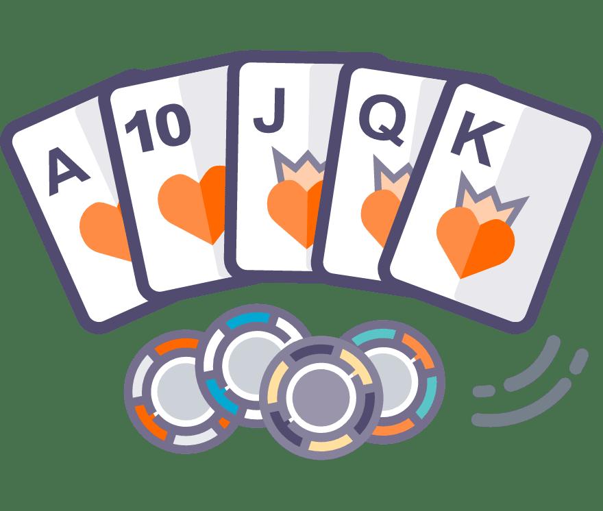 Zagraj w Texas Holdem online — najlepszych 34 Kasyno Mobilne z największymi wypłatami w roku 2021