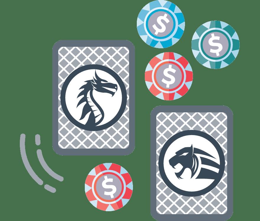 Zagraj w Dragon Tiger online — najlepszych 37 Kasyno Mobilne z największymi wypłatami w roku 2021