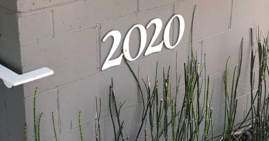 Co 2020 Trzyma dla Mobile Gaming Sfery